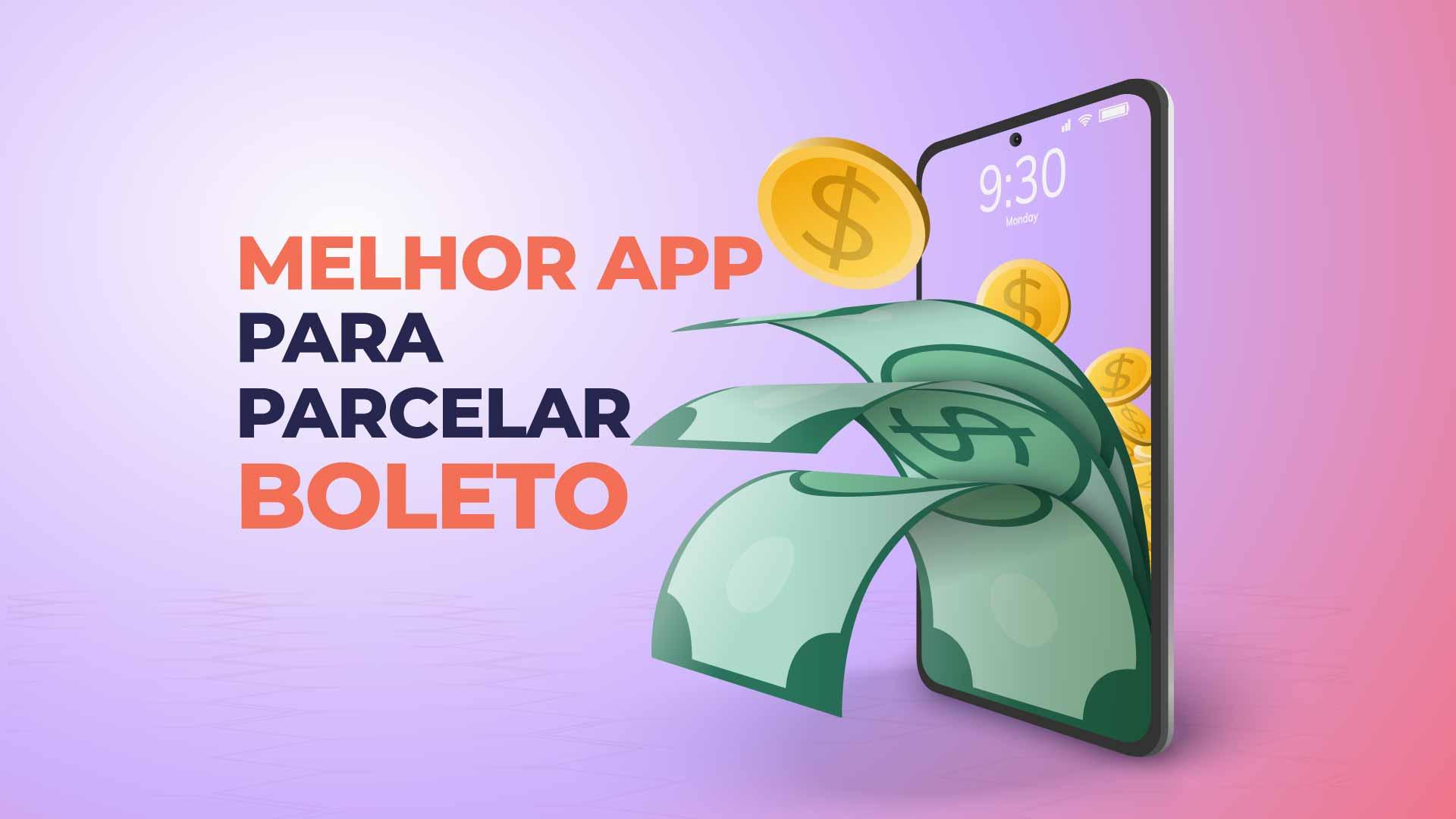 aplicativo para parcelar no boleto