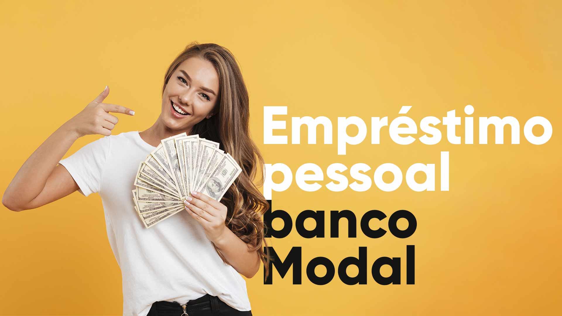 empréstimo pessoal banco Modal
