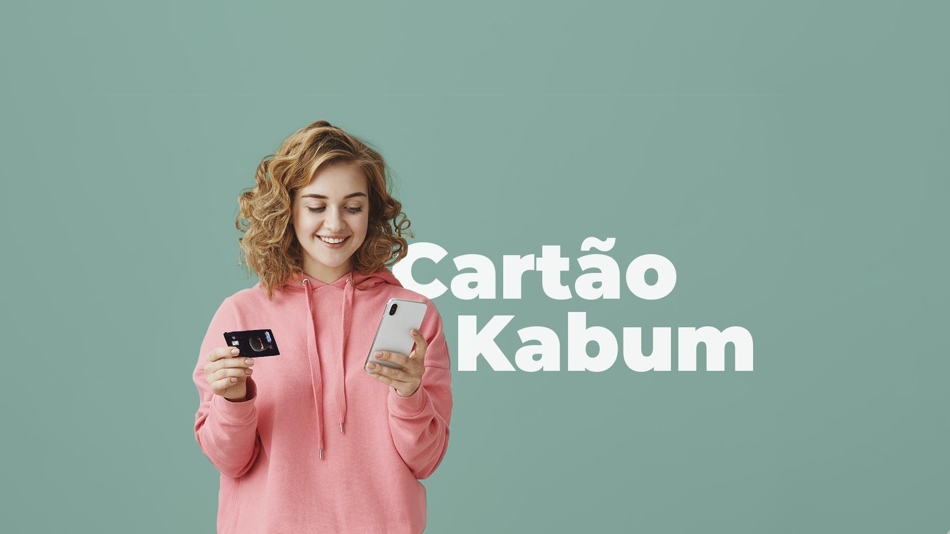 cartão de crédito Kabum