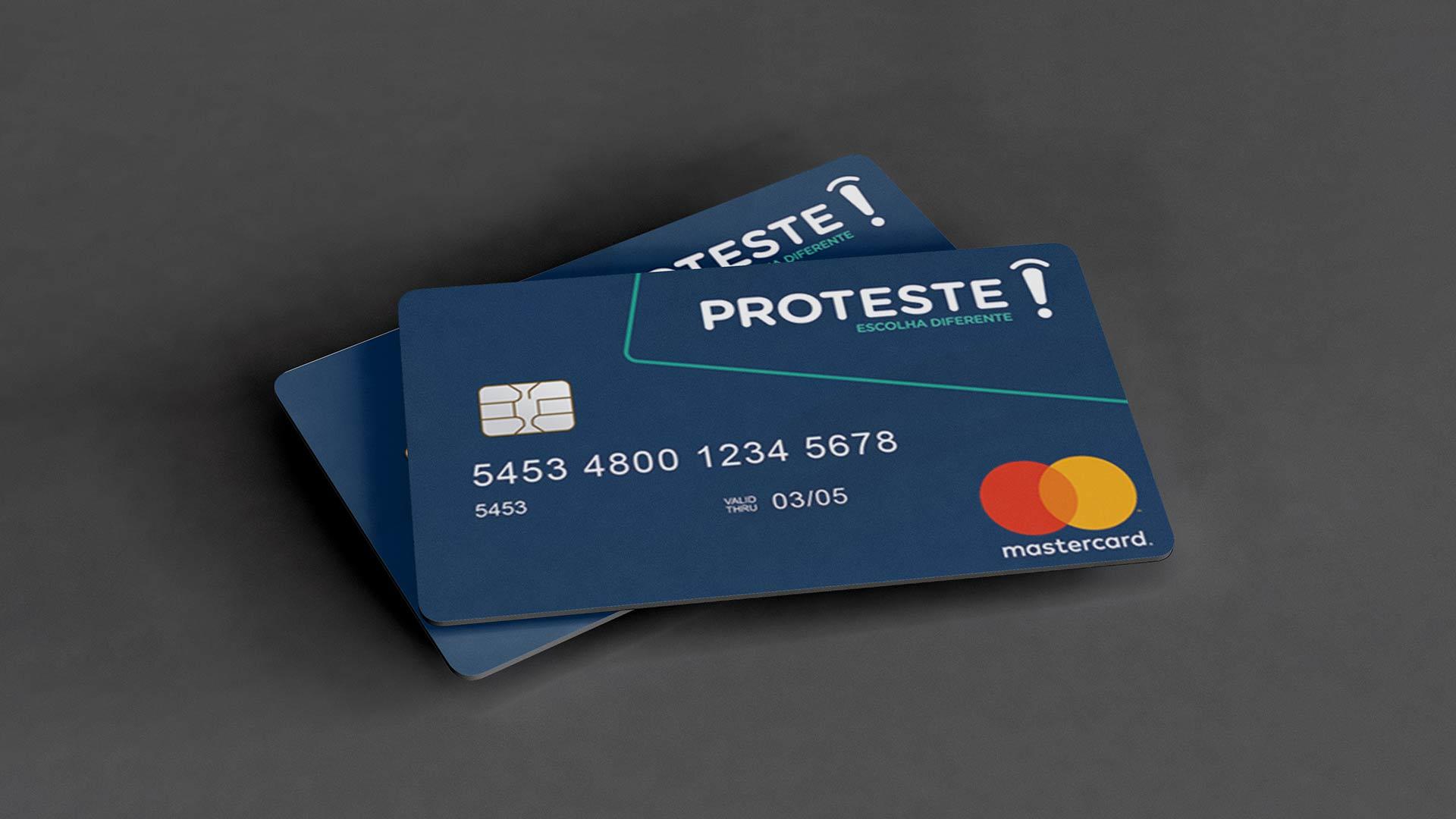 solicitar o cartão pré-pago Proteste